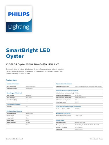 SmartBright LEDOyster