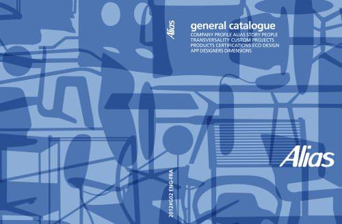 General catalogue Alias 2012