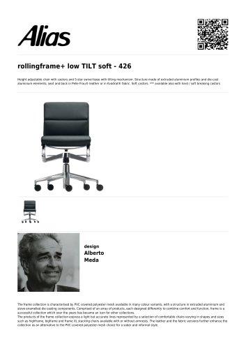 rollingframe+ low TILT soft - 426