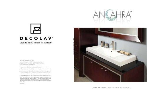 2008 Anchara™ catalog