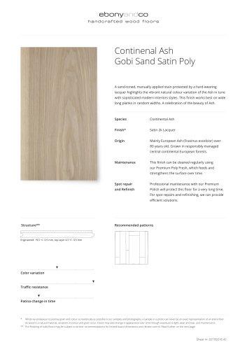 Continenal Ash Gobi Sand Satin Poly