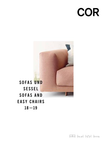 COR SOFAS AND EASY CHAIRS 2018/2019