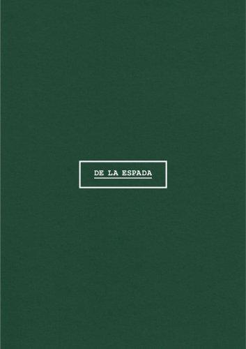 De La Espada Lookbook Vol 3