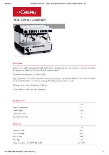 M29 Select Turbosteam