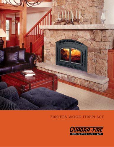 7100 EPA wood fireplace