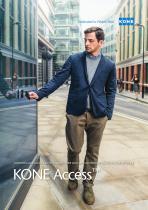 Brochure KONE Access™ - Controllo degli accessi intelligenti per un flusso di persone sicuro e confortevole