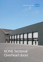 KONE Sectional Overhead doors