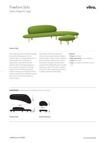 Freeform Sofa Factsheet