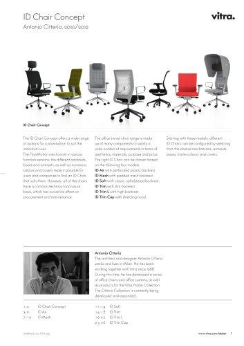 ID Chair Concept Factsheet
