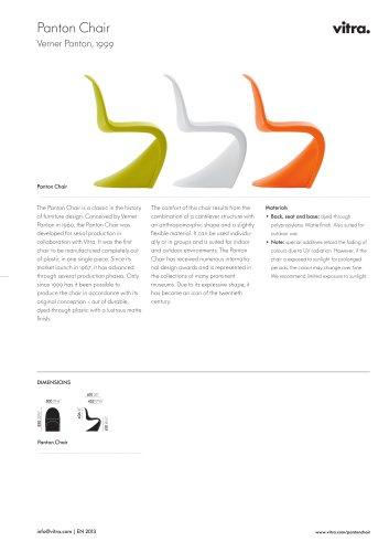 Panton Chair Factsheet