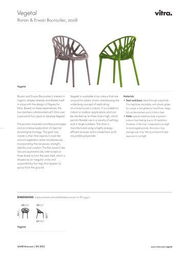 Vegetal Factsheet