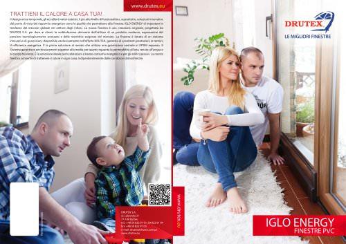 IGLO ENERGY FINESTRE PVC