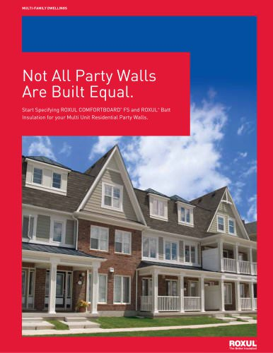 Not All Party Walls Are Built Equal