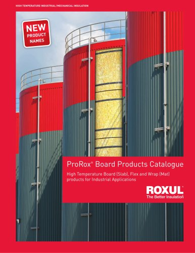 Prorox board products catalogue