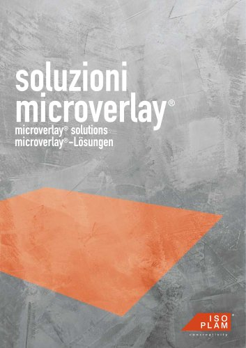 Microverlay - cement resin