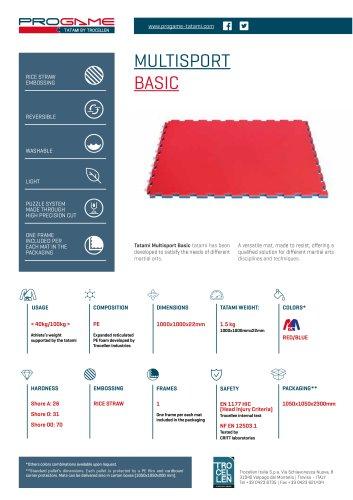PROGAME TATAMI MULTISPORT BASIC