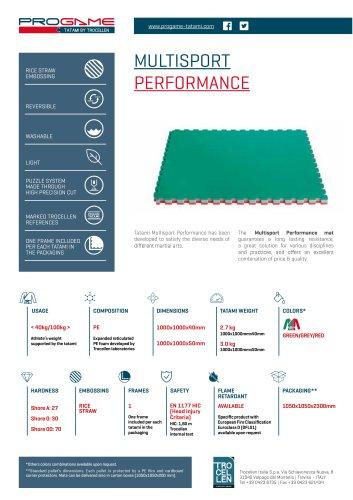 Progame Tatami Multisport Performance
