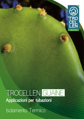 TROCELLEN GUAINE - per tubazioni - Isolamento termico