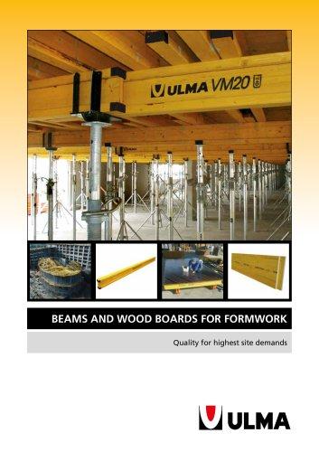 BEAMS and WOOD BOARDS