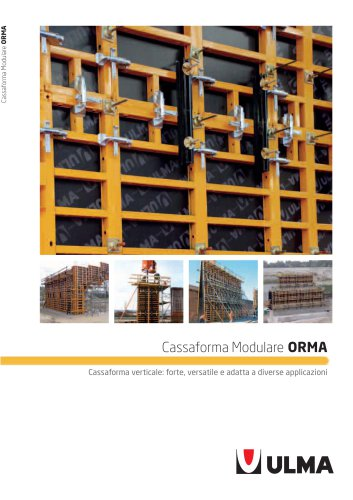 cassaforma modulare ORMA
