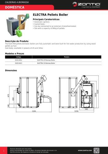 ELECTRA Pellets Boiler