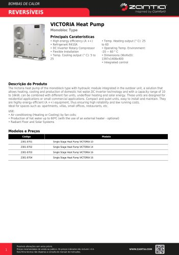 VICTORIA Heat Pump