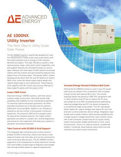 AE 1000NX Utility Inverter