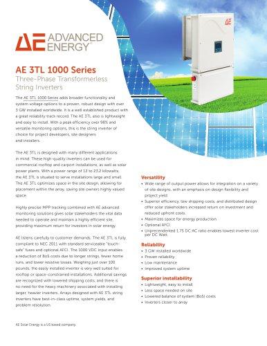 AE 3TL 1000 Series