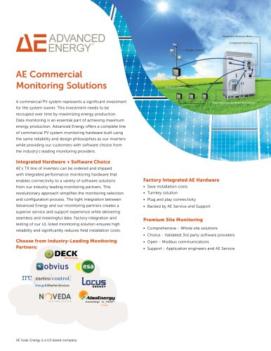 AE Commercial Monitoring Solutions