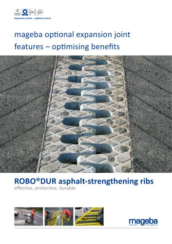 mageba optional expansion joint features – optimising benefits