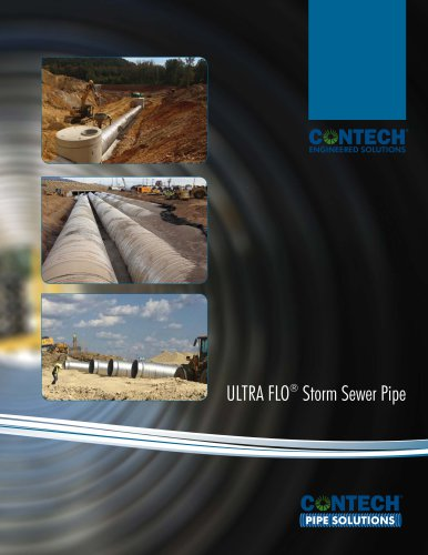 ULTRA FLO®  Storm Sewer Pipe