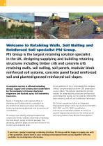Retaining Walls Soil Nailing Reinforced Soil