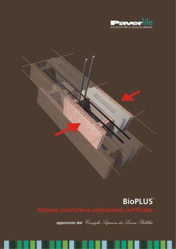 BioPLUS - Sistema costruttivo antisismico certificato