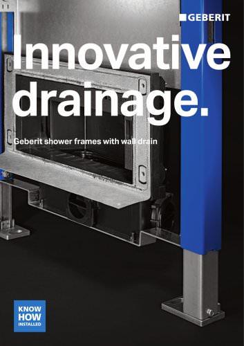 Innovative drainage