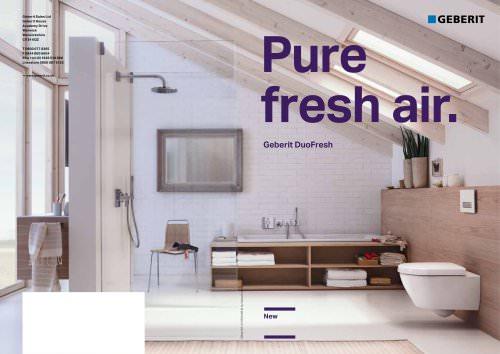 Pure Fresh Air Geberit DuoFresh