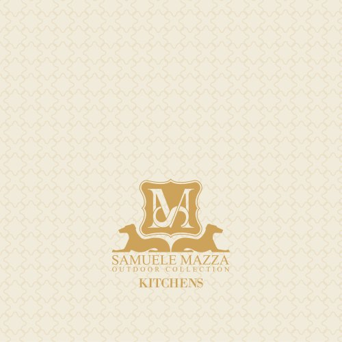 Kitchens Samuele Mazza Outdoor Collection