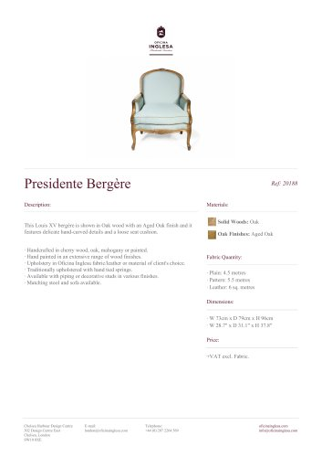 Presidente Bergère