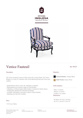 Venice Fauteuil