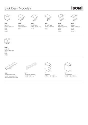 Blok Desk