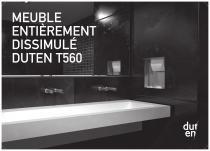 Duten T560 recessed unit
