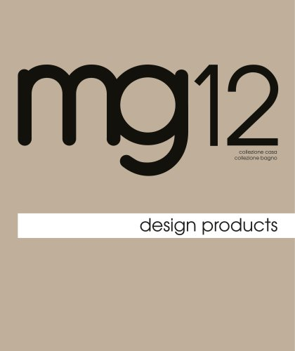 mg12 Design Product home/bath collection 19