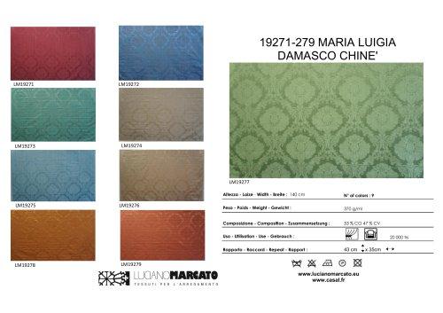 19271-279 MARIA LUIGIA DAMASCO CHINE'