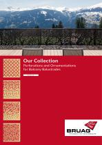 Bruag Perforation Collection for Balcony Parapets