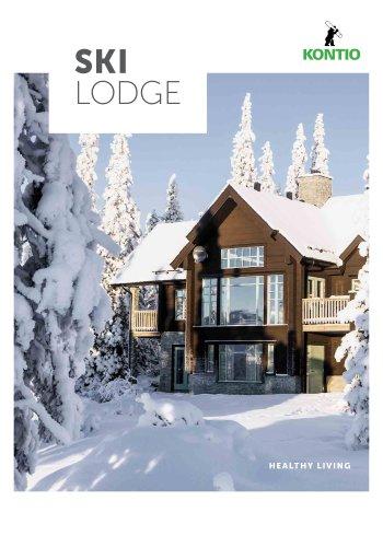 Kontio Ski Lodge Bois Massif