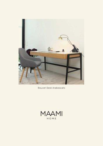 Bouvet Desk Arabescato factsheet