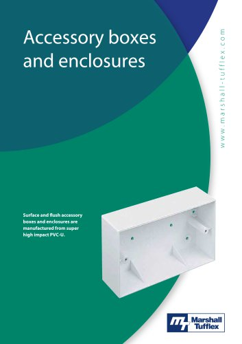 PVC Accessory Boxes and Enclosures