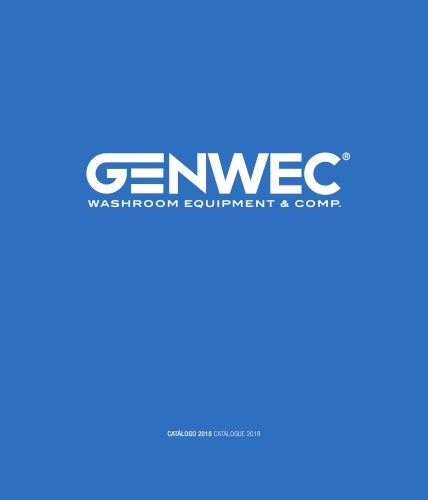 Catalogue Genwec 2018