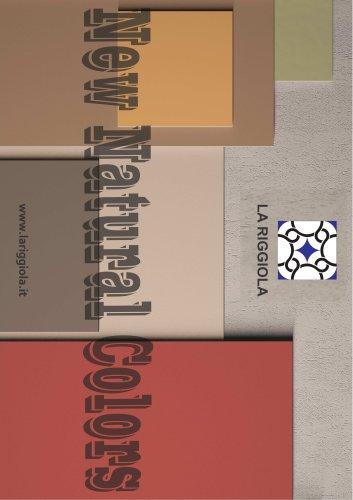 LA RIGGIOLA New Natural Colors Lava Stone and Terracotta Patterns