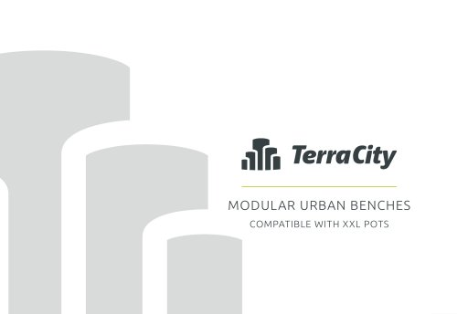 Modular Urban Benches