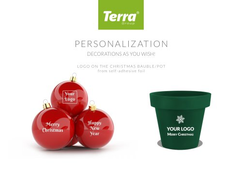 Personalized decorations as you wish